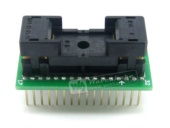 Modules SOP32 TO DIP32 (B) SO32 SOIC32 SOP Enplas IC Test Socket Programming Adapter 1.27Pitch Free Shipping ssop28 to dip28 b tssop28 enplas ic test socket programming adapter 0 65mm pitch