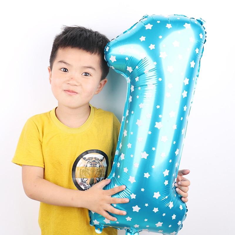 Balona të mëdha me fletë metalike me fletë rozë me madhësi 1PC - Furnizimet e partisë - Foto 5