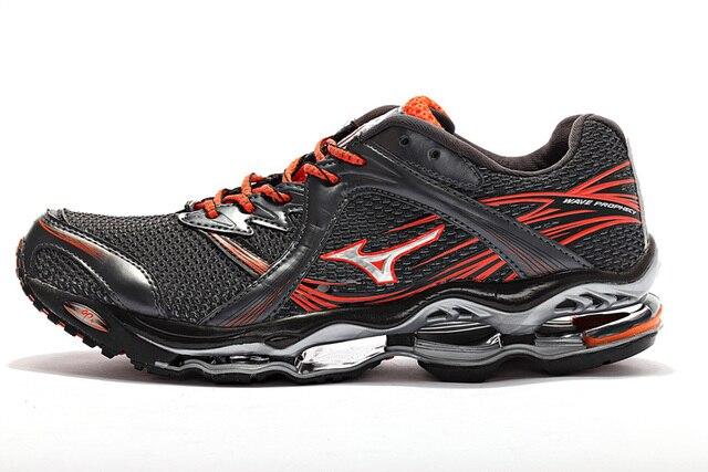 Mizuno первоначально волна создание 1 Мужская обувь 6 цветов классические удобные стабильный спортивные баланс Вес Подъема Обувь Size40-45