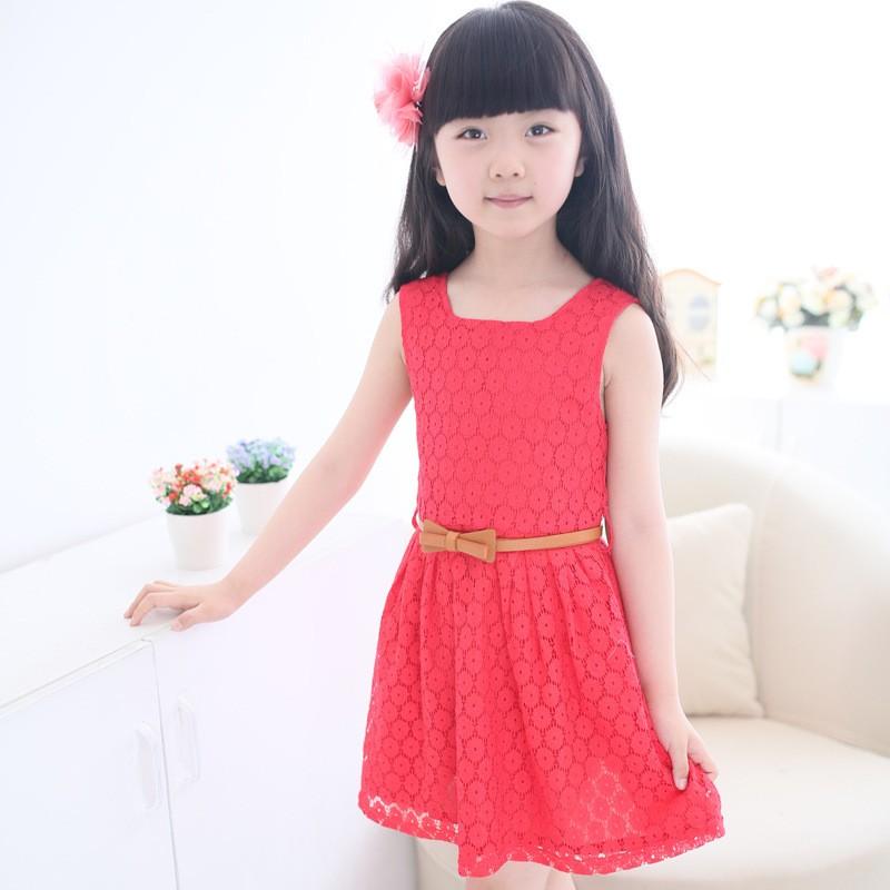 2015-Summer-Lace-Vest-Girls-Dress-Baby-Girl-Princess-Dress-2-8-Years-Chlidren-Clothes-Kids (2)
