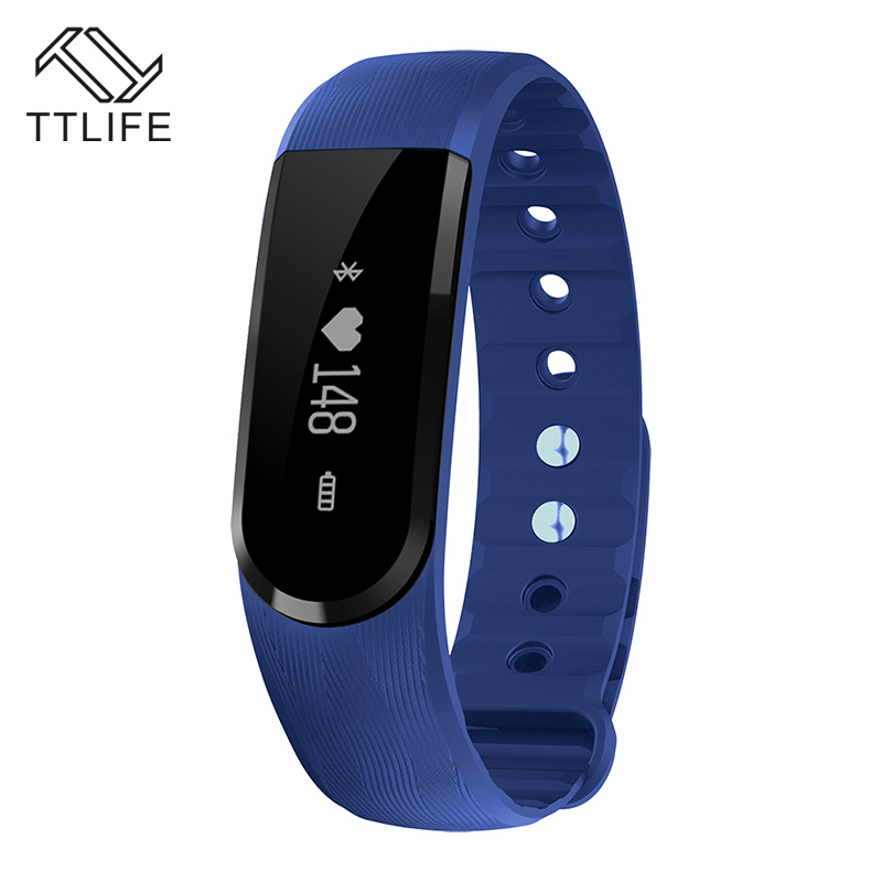 Original TTLIFE Brand On Wrist Bracelet intelligent Heart Rate Monitor Smart Wristband For Android 4 4