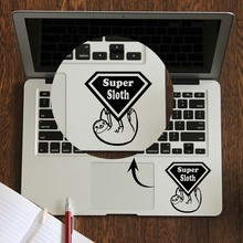 Cute Super Sloth Laptop Trackpad Sticker for Apple Macbook Decal Pro Air Retina 11 12 13 14 15 inch Vinyl Mac Book Touchpad Skin