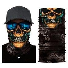 Motorcycle Mask Balaclava Skull Mascara Moto Biker Face Shield Kominiarka Cagoule Visage Ghost