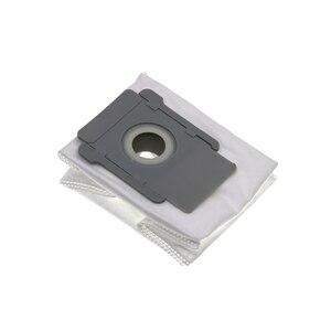 Image 4 - 6 pièces/12 pièces pour irobot Roomba i7 i7 + plus E5 E6 robot aspirateur sacs filtre à poussière robotique accessoires de dépoussiéreur