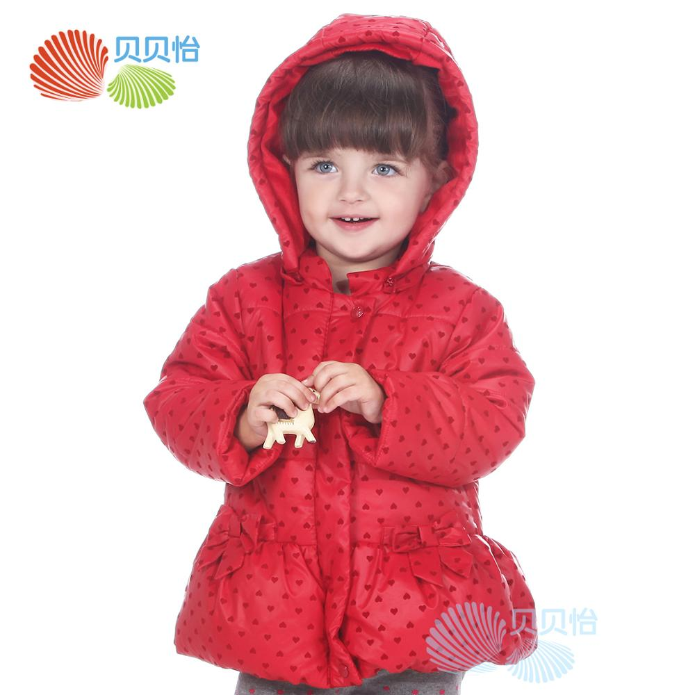 Autumn and winter baby wadded jacket outerwear child thickening jacket cotton-padded baby girls jacketAutumn and winter baby wadded jacket outerwear child thickening jacket cotton-padded baby girls jacket