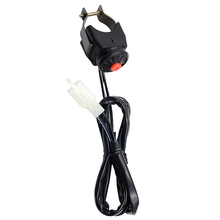 1 pçs handelbar interruptor starter/kill interruptor de ultrapassagem interruptor luz para pit bike go cart atv 7/8 handlebar handlebar guiador etc 24.4 Polegada