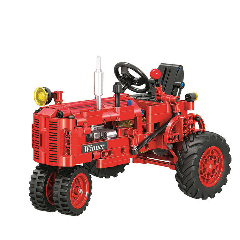 Classic Tractor Motorcycle Legoingly Technic Creator Model Building Blocks Bricks Technician Toys For Children Christmas Gift