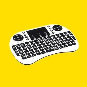 Image 3 - Беспроводная мини клавиатура I8 2,4 ГГц с подсветкой, сенсорная мышь, батарея AAA * 2 со светодиодной подсветкой для смарт ТВ, мини ПК