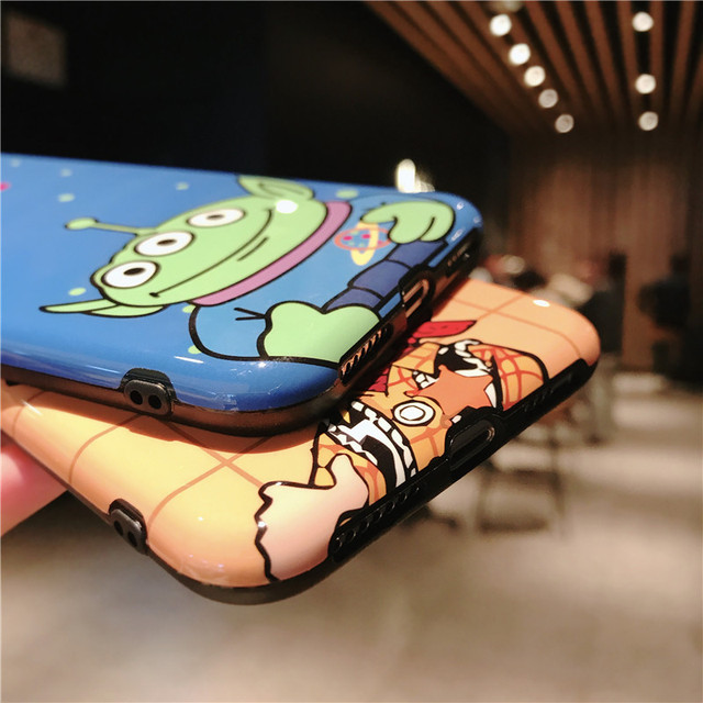 Cartoon Anime Toy Story Buzz Lightyear case For iphone