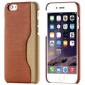 Titular do cartão caso de volta para o iphone 6 6 s plus tampa da pele pano sacos tampa do telefone tampa traseira dura para iphone 6 6 s plus caso Coque