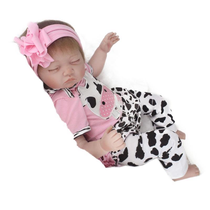 Здесь продается  Cute Lifelike Handmade Reborn Newborn Baby Realike Doll Lifelike Silicone Vinyl Looking Real Toddlers Doll for Girls  Игрушки и Хобби