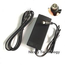 Cargador de batería de litio para bicicleta eléctrica cargador de batería de litio de 54.6V1A, 54,6 v, 1A, 48V, enchufe RCA, cargador de 54.6V1A