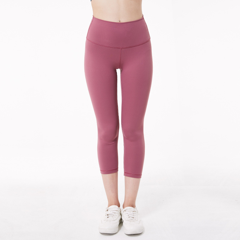 Women high rise capris sports gym crop sexy tummy control capris super quality 4 way stretch No-see throughfabric size us4-us12