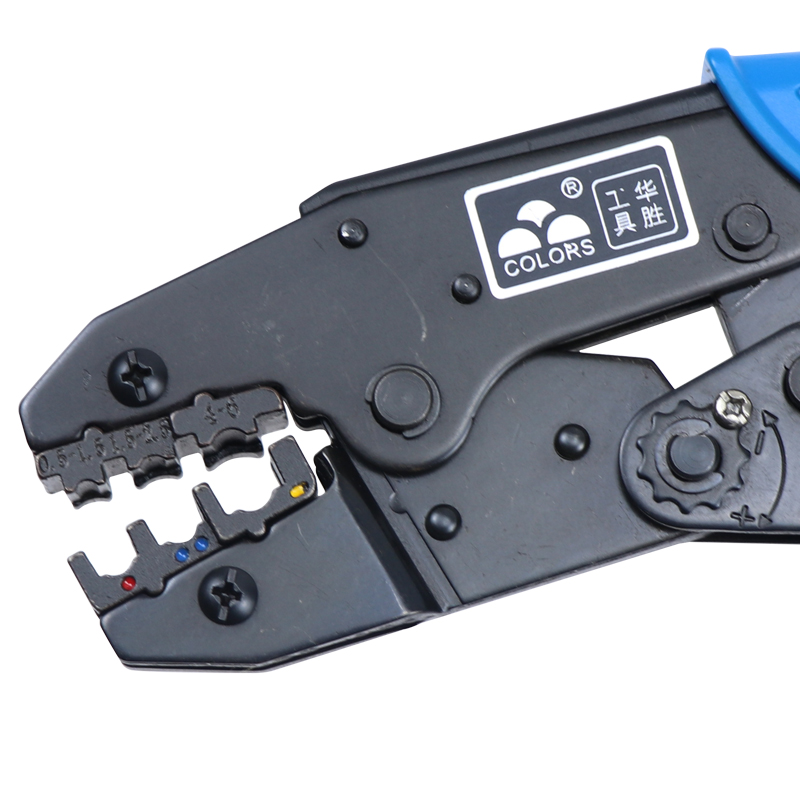 Купить с кэшбэком COLORS Crimping Set Cable Cutter Crimper Kablo Kesici Pliers Tools Crimp Alicate Plier Wire Alicate Crimpador Alicates crimp 30J