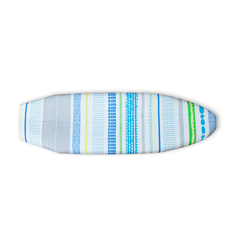 1 Piece European Style Ironing Board Cover Pad Blue Yellow Stripe Anti Heat Free Shipping 51x130cm Cotton Only In Boards From Home