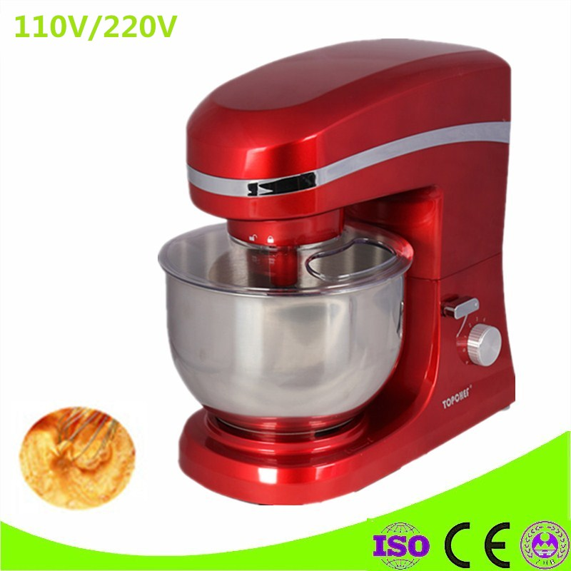 Electric Commercial Kitchen Appliance Food Mixer Blender Mixer Egg Beater Milk Shaker Bread Spiral Dough Mixer Machine цена и фото