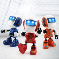 Intelligent Induction Robot 2018 Sensing Touch Multi Function Music Smart Mini Alloy Robot Kids Toy Gift