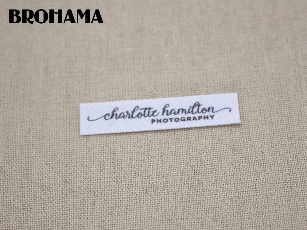 100pcs Fer-Sur Bee Pattern Lavable Nom étiquette tissu Tag vêtements étiquettes Marqueur