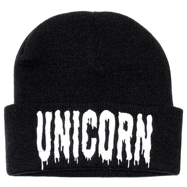 Europe and America Men and Women Warm Autumn and Winter UNICORN Knitting Skullies & Beanies Hat Ski Wool Cap RX002 the new 2016 han edition affixed cloth wave cap hat hat tip to keep warm letter knitting hat qiu dong men and women