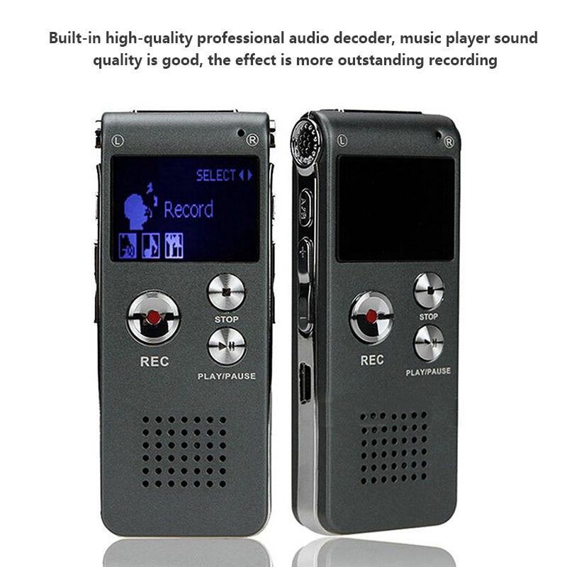 8 ГБ MP3 плеер Mini-USB записи HD пера 2 в 1 Цифровой Аудио Голос Регистраторы 108 час Диктофон MP3 плеер бесплатная доставка