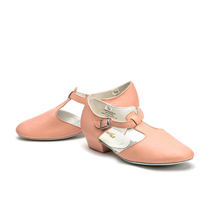 Женская обувь для танцев Sansha, из коровьей кожи, для учительниц, танцевальная сандалия, для джаза, TE1LCO