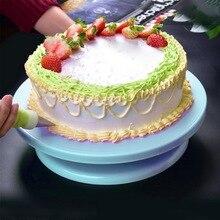 28 см Высокое качество торт стенд ремесло платформа поворотного стола кекс поворотная пластина Вращающийся торт выпечки украшения инструменты