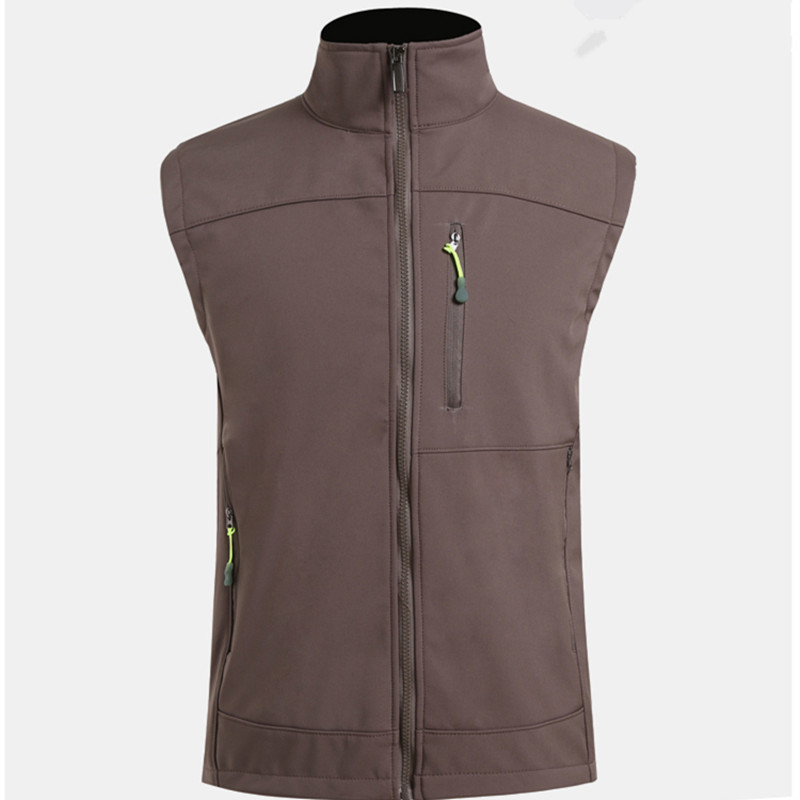 Winter Outdoor Waterproof Fleece Thermal Vests Men S Climbing Riding Fishing Warm Windproof Breathable Soft Shell Waistcoat Tops