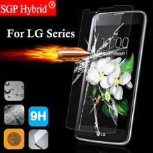 Screen Protector 9H Premium Tempered glass For LG k3 k4 k8 k10 2017 k7 Magna k20 plus nexus4 nexus5 Smartphone Film Case celular