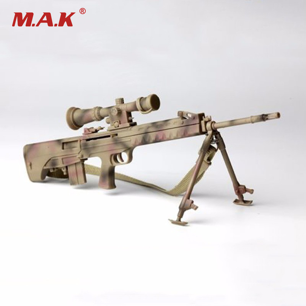 New 1/6 Scale Camouflage Sniper Rifle Pistol Gun Model Toys For 12 Action Figure Accessory 2017 new 1 6 1 6 12 action figures g43 sinper rifle tactical gun christmas gift free shipping boy toy birthday present