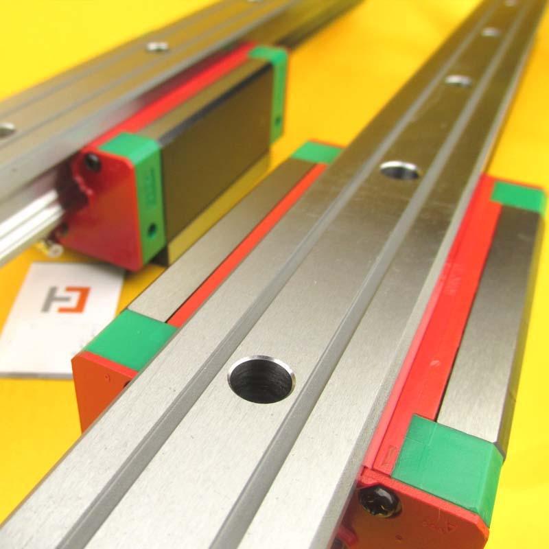 1Pc HIWIN Linear Guide HGR15 Length 100mm Rail Cnc Parts 1pc hiwin linear guide hgr15 length 300mm rail cnc parts
