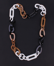 Necklace Resin Link jewelry long necklace 3colors mixed new 2016 fashion quality plastic jewelry