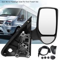 1Pcs Left/Right Side Car Manual Adjust Rearview Mirror For Ford Transit Van Mk7 2006 2014