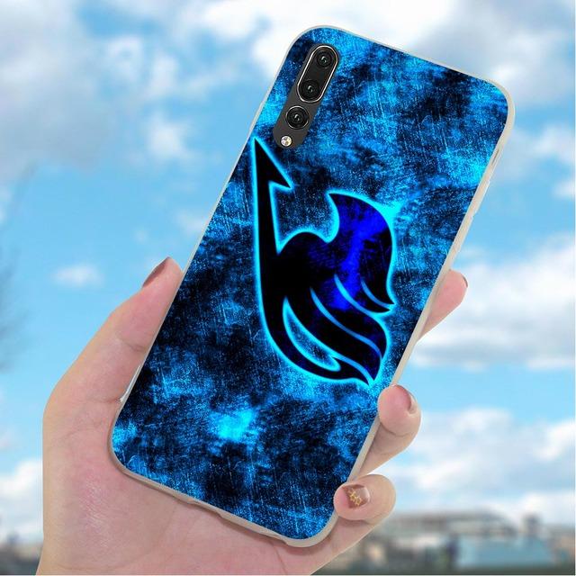 Fairy Tail Case for Huawei Mate 10 Pro Cover 20 P8 P20 P30 P10 P9 Lite Mini P