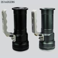 LED Flashlight Rechargeable Powerful Mini Long Range 500M Search Light Torch 2000 Lumens Light 18650 Battery