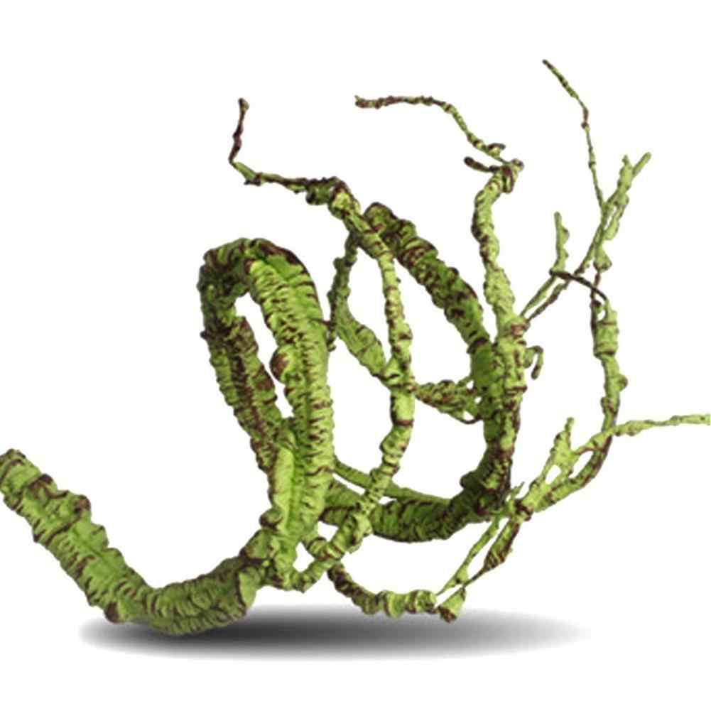 LanLan Гибкая искусственная Ветка лозы джунгли лозы Pet Декор жилища для ящериц лягушек змей и других рептилий