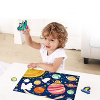 96 Pcs of Luminous Puzzle Children Early Education Educational Toys Intellectual Development Exercise Hands and Eyes Kids Toys