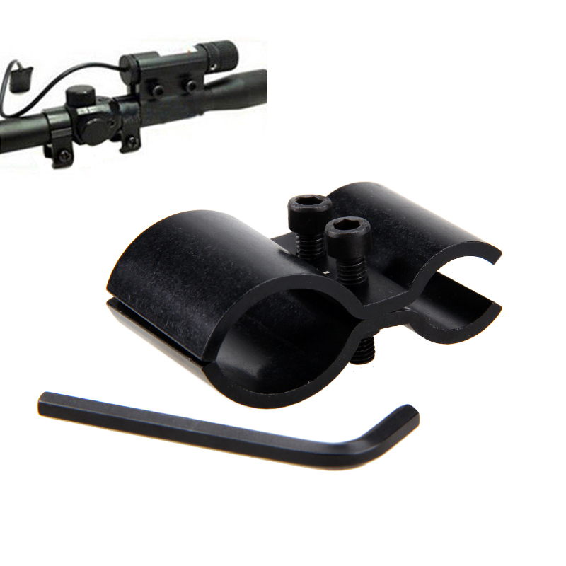 Tactical Hunting Barrel Adapter Sight Scope Mount for Flashlight Telescope