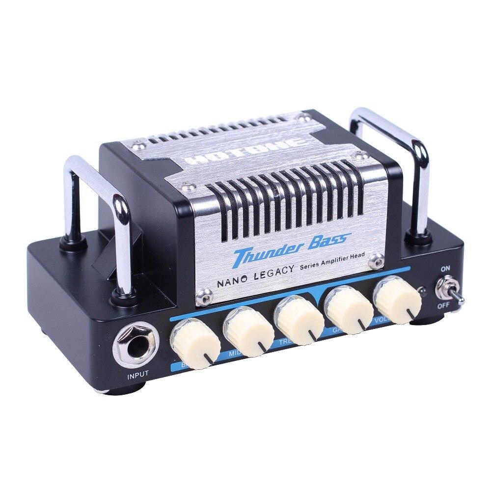 Hotone Thunder Bass Amplifier Head 5 Watts Sound inspired by Legendary SVT* 3 Band EQ High quality Sound Tone ampeg svt 610hlf