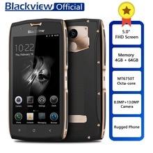 Blackview BV7000 Pro прочный водостойкий MT6750T Octa-core Смартфон FHD «5,0 4 ГБ ОЗУ 64 ГБ ПЗУ отпечаток пальца телефон 13.0MP камера