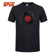 Retro Spinning Vinyl Record men's t-shirt / 9 Colors