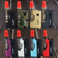 Kingfish IMINI Box Mod Kit Thick Oil Cartridges Vaporizer e cigarette Kit 280mAh Box Mod imini Atomizer cbd Vape Preheat VV Mod цена 2017