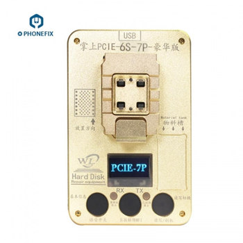 PHONEFIX WL PCIE NAND Programmer Memory Upgrade Error Repair NAND Flash Read Write Tools For iPhone 6S 6SP 7 7P iPad Pro Тахеометр