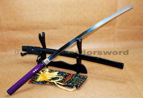 Ručno rađena japanska katana mač Glina Kaljeno UNOKUBI ZUKURI - Kućni dekor - Foto 2