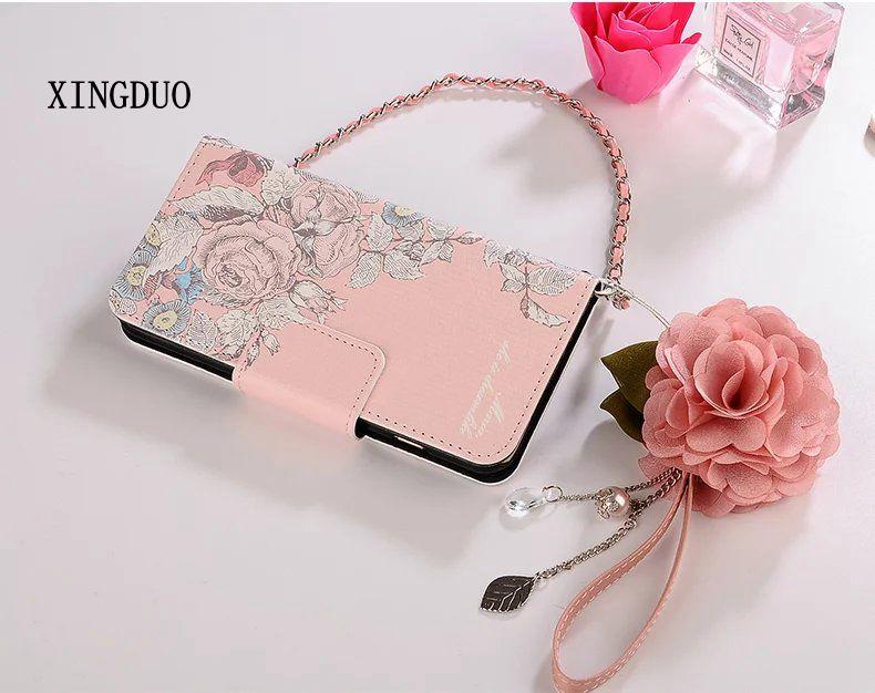 Xingduo для Samsung Galaxy S7 кожаная сумка визитка на Флип Бумажник Браслет чехол для S7 EDGE/S6/ s6edge плюс note5/4