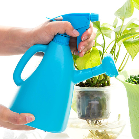 1PC Hand Pressure Type Watering Can Household Spray Watering Pot Garden Flowers Purling Garden Plants Repair ...