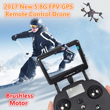 Profesional rc quadcopter CX23 brushless GPS 5.8G FPV OSD Real-time remote control racing Drone dengan 1080 P HD Kamera VS H109S