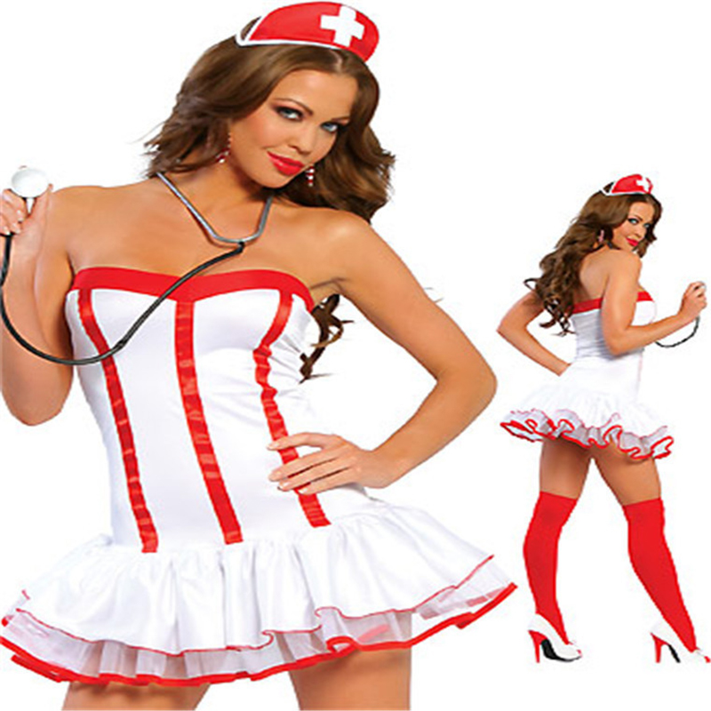 sexy teddy nurse costume Women Sexy erotic costumesSex Products toy Role Play Sexy Underwear Games Cosplay Uniform