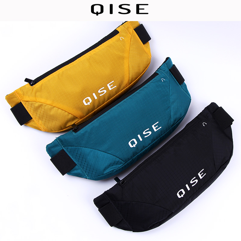 Men's And Women's Sports Running Waist Bag Fanny Pack Multi-function Waterproof Marathon Ultra-thin Customized Logo Printing