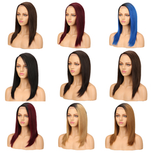 Sleek Human Hair Wigs Brazilian Straight Lace Front Human Ha