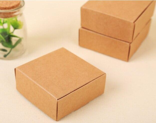 Diy Craft Paper Box Retail Kraft Card Cardboard Bo For Packaging Gifts Size